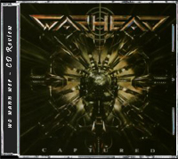 Warhead - Captured - Front Cover